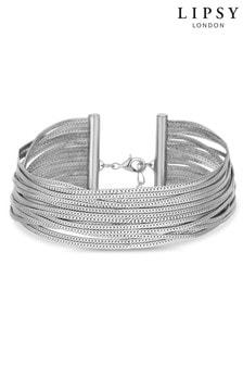Lipsy Jewellery Silver Slinky Bracelet