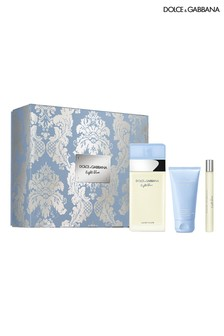 Dolce & Gabbana Light Blue EDT 100ml + Body Cream 50ml + Travel Spray 10ml