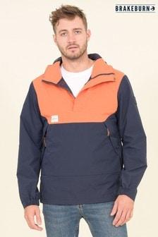 Brakeburn Orange Two Colour Pullover Jacket