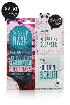 Oh K! 3 Step Seaweed Anti Pollution Mask