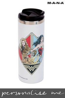 Wonder Woman 84 Retro Stainless Steel Thermo Travel Mug