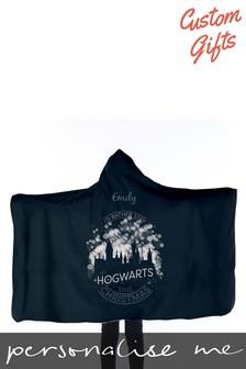 Personalised Harry Potter™ Kids Hooded Blanket by Custom Gifts