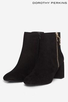 Dorothy Perkins Black Adaline Ankle Boot