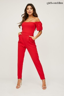Little Mistress Tobin Bardot Jumpsuit