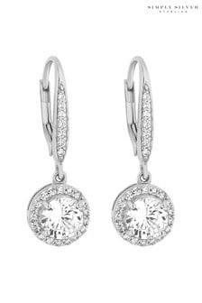 Simply Silver Sterling Silver Clara Earrings