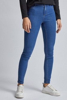 Dorothy Perkins Blue Coated Frankie Jean - Regular Length