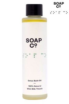The Soap Co. 100 Natural Detox Bath Oil 100ml