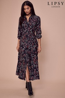 Lipsy Multi Maxi Shirt Dress