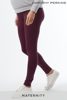 Dorothy Perkins Berry Maternity Ponte Leggings