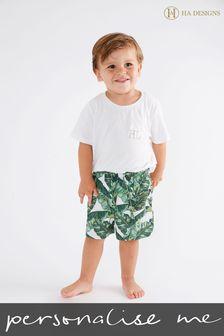 Personalised Mini Boys Pyjama Set By HA Designs