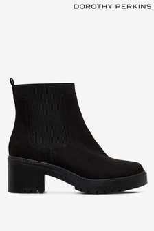 Dorothy Perkins Alyssa Chunky Pull On Chelsea Boots