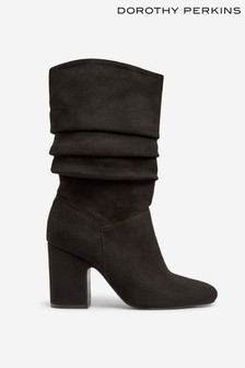 Dorothy Perkins Ruched Midi Boots