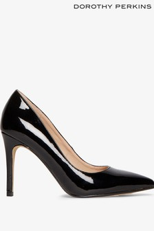 Dorothy Perkins Patent Danielle Court Shoes