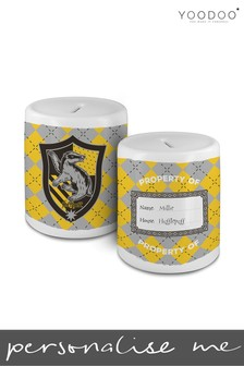 Personalised Harry Potter House Hufflepuff Money Bank By YooDoo