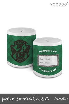 Personalised Harry Potter House Slytherin Money Bank By YooDoo