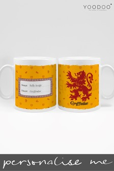 Personalised Harry Potter Gryffindor House Mug By YooDoo