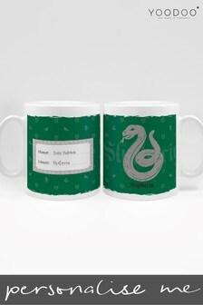 Personalised Harry Potter Slytherin House Mug By YooDoo