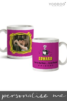 Personalised Friends Mug - Ross and Rachel By YooDoo