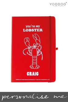 Personalised Friends Notebook By YooDoo - You're My Lobster