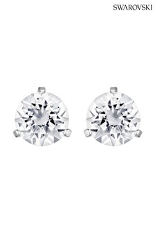 Swarovski® Solitaire Pierced Earrings