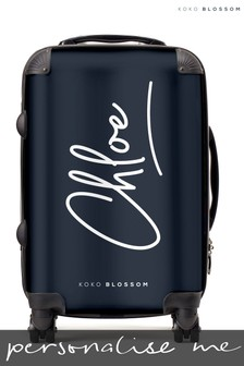 Personalised Signature Small Suitcase By Koko Blossom