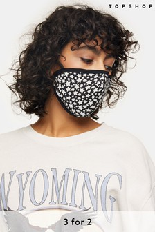 Topshop Star Print Face Covering