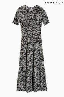 Topshop Daisy Tiered Dress