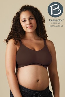 Bravado Brown Body Silk Seamless Nursing Bra