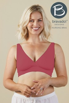 Bravado Red Ballet Nursing Bra