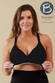 Bravado Black Original Nursing And Pumping Bra