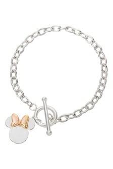 Disney Sterling Silver Mickey Adult Bracelet