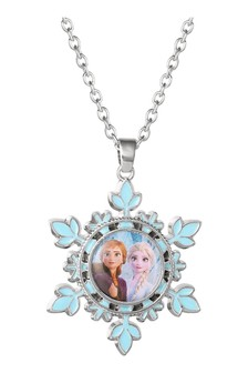 Disney Silver Frozen 2 Costume Childrens Necklace
