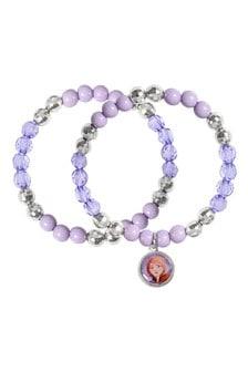 Disney Purple Frozen 2 Costume Childrens Bracelet Set