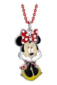Disney Silver Minnie Costume Childrens Necklace