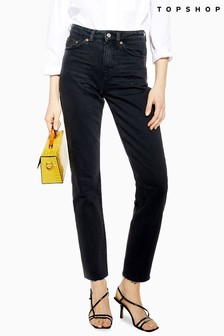 "Topshop Straight Jean 34"" Leg"
