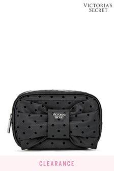 Victoria's Secret Velvet Dot Beauty Case