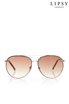 Lipsy Oversized Aviator Sunglasses