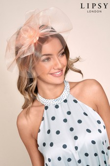 LipsyNude  Rose Fascinator