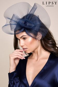 Lipsy Navy Rose Fascinator