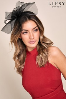 Lipsy Black Rose Fascinator