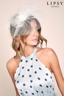Lipsy Cream Rose Fascinator