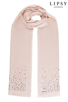 Lipsy Nude Sequin Pashmina