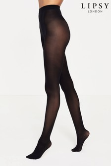 Lipsy Black 3 Pack Super Soft 40 Denier Tights