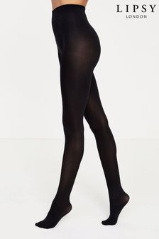 Lipsy Black 3 Pack Super Soft 100 Denier Tights
