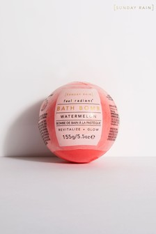 Sunday Rain Revitalise and Glow Watermelon Bath Bomb 155g