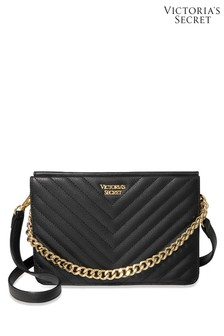 Victoria's Secret Pebbled V-Quilt 24/7 Crossbody