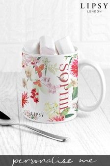 Personalised Lipsy Ceramic Mug By Teat Republic