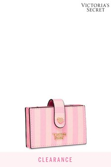 Victoria's Secret Signature Stripe Accordion Card Case