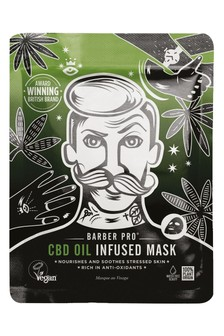 BARBER PRO CBD Oil Infused Sheet Mask 22ml