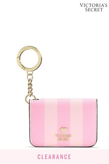Victoria's Secret Signature Stripe Foldable Card Case